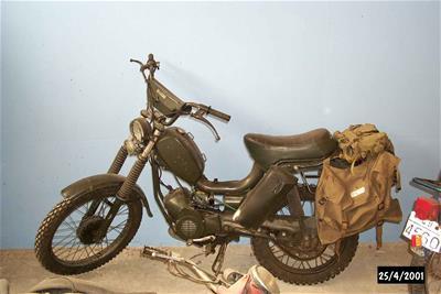 Μοτοσικλέτα Testi Militar 50