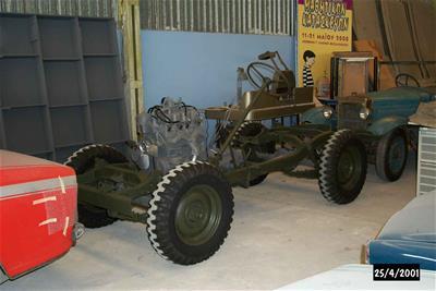 Σασί Αυτοκίνητου Jeep M38-A1