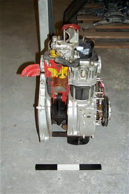 Τομή Κινητήρα Εσωτερικής Καύσης Αυτοκινήτου Fiat 500