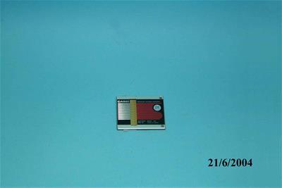 Μνήμη Ram Casio 2KB