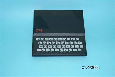 Ηλεκτρονικός Υπολογιστής Η/Υ Sinclair ZX81