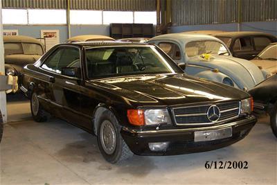 Αυτοκίνητο Mercedes Benz 500 Sec