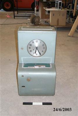 Ρολόι Παρουσίασης Προσωπικού Tn
