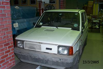 Αυτοκίνητο Fiat Panda