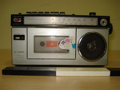 Ραδιοκασετόφωνο Sanyo M 1700f