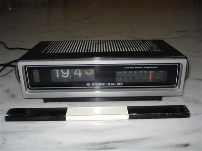 Ραδιόφωνο Ψηφιακό Ρολόι Atomic-Dgu 100