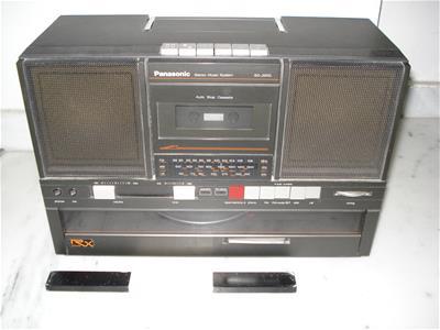 Ραδιοκασετόφωνο Panasonic Sg-J550l