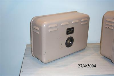 Βυθόμετρο Submarine Signal, Ενισχυτής