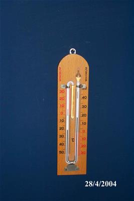 Θερμόμετρο Μέγιστου Ελάχιστου
