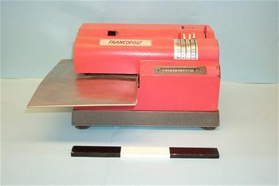 Μηχανή προπληρωμένων ταχυδρομικών τελών Francopost