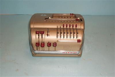 Μηχανική Αριθμομηχανή Brunsviga 11E